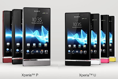 Sony Xperia U and Sony Xperia P