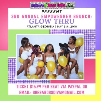 Snappin Event: 3rd Annual EmpowerHer Brunch: Glow Thru