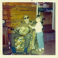 Holly with Leonard, her Papa