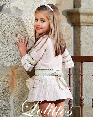 vestido niña lolittos