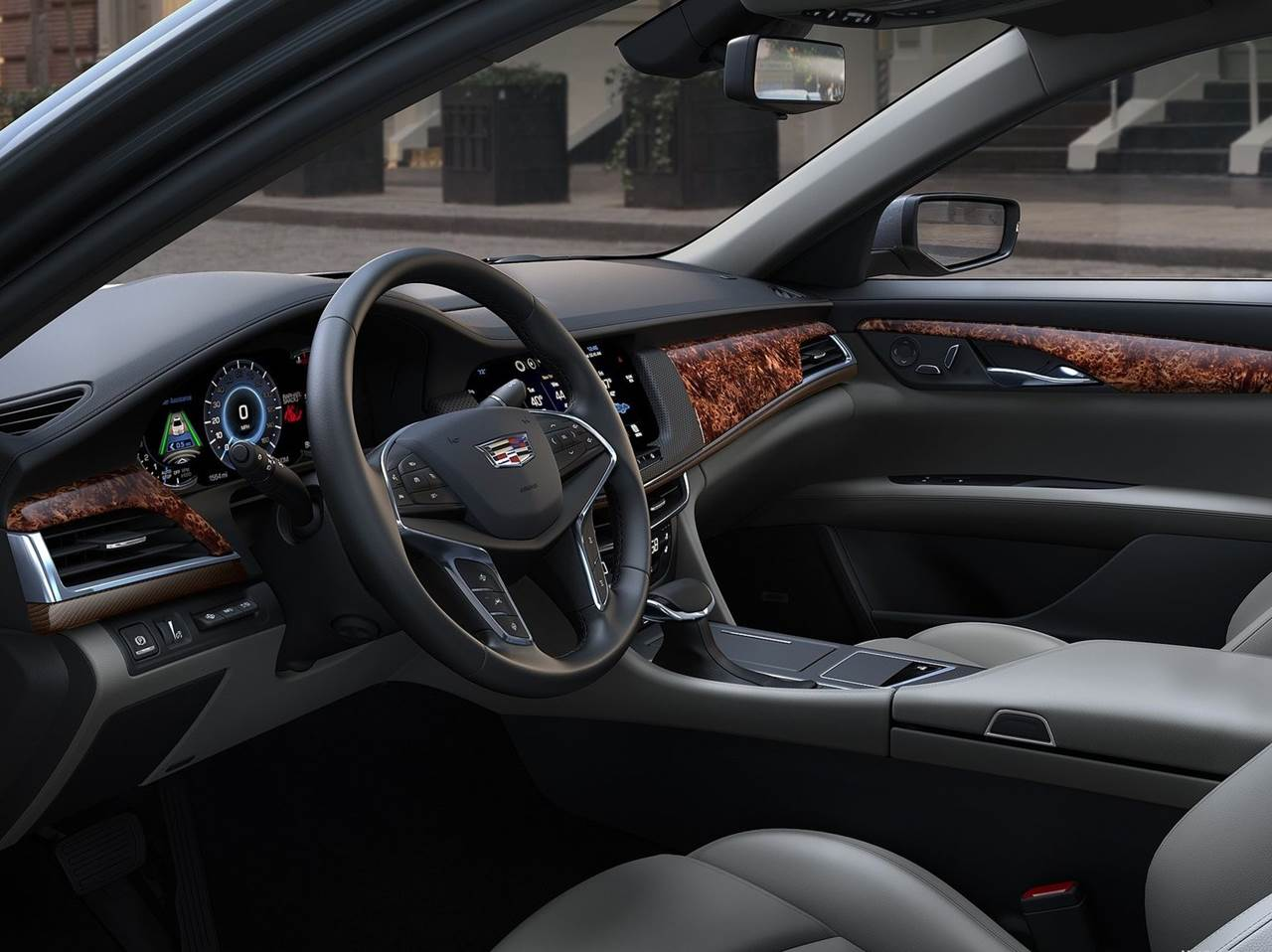Cadillac CT6 - interior