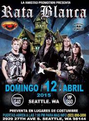 "RATA BLANCA EN EL ""KINGS HALL"" (EE.UU.) - 12/04/2015"