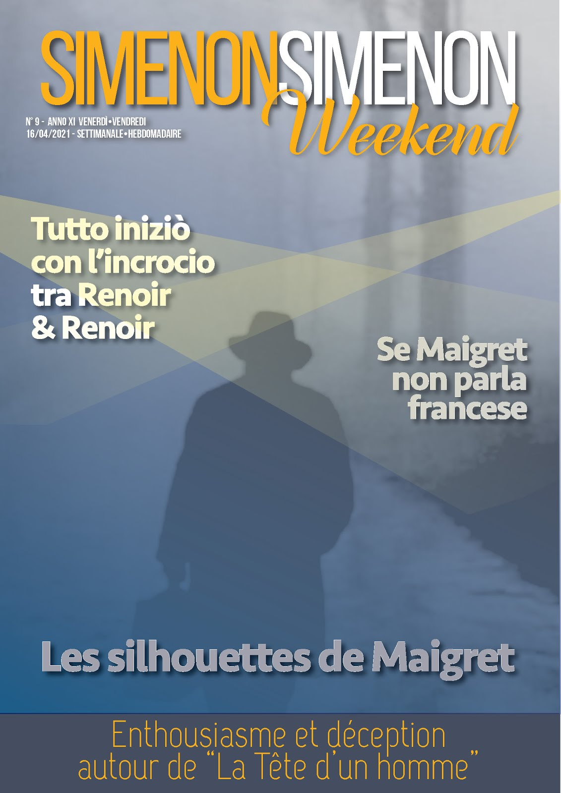 SIMENON SIMENON WEEKEND N.9
