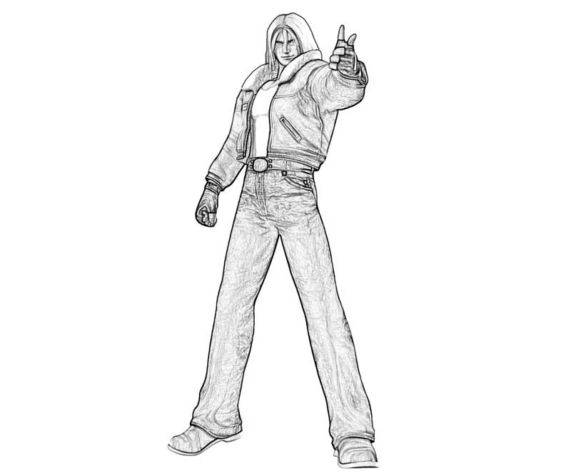 king-of-fighters-terry-bogard-call-coloring-pages