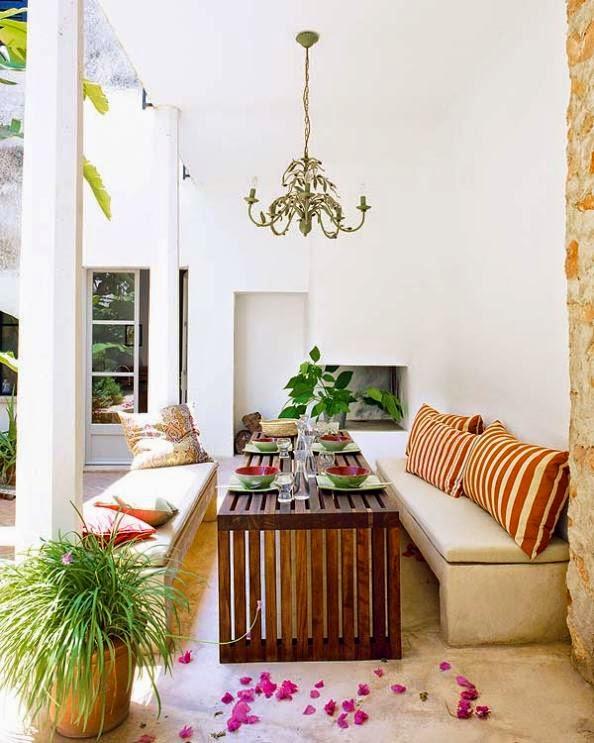 casa xdecorada con piezas recuperadas y vintage