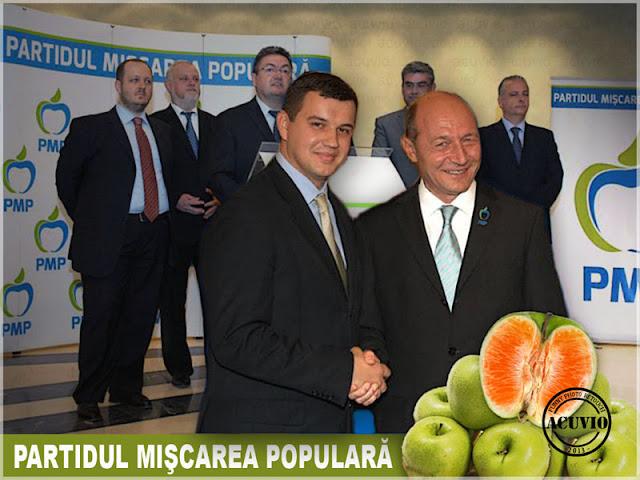Funny Partidul Mişcarea Populară cu Eugen Tomac şi Traian Băsescu