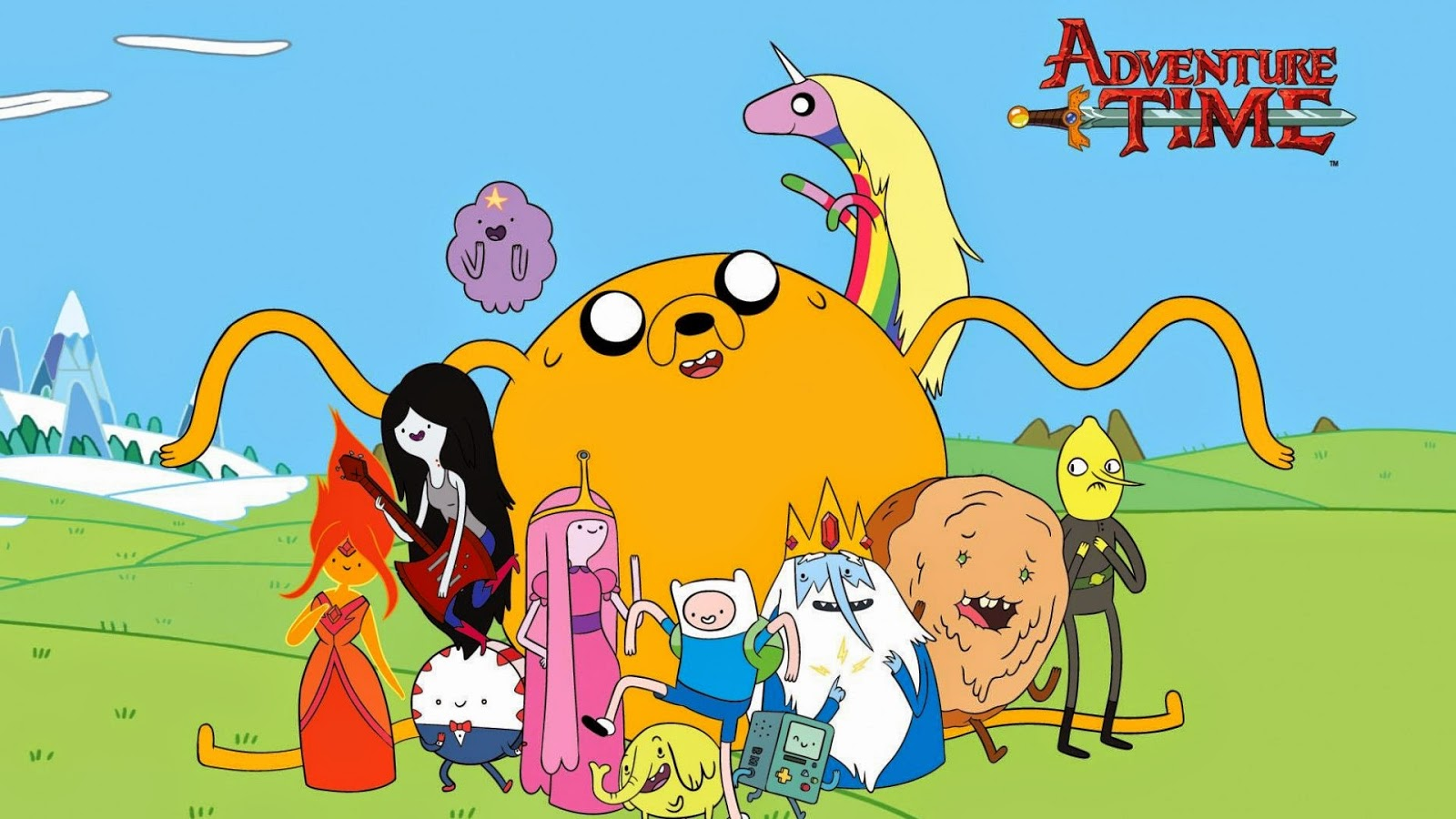 Adventure Time Animated Gif Wallpaper HD Cool Image - Film ...