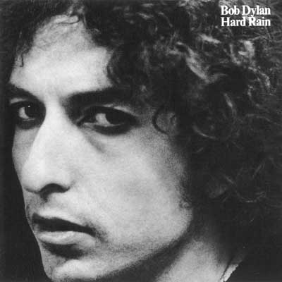 Bob Dylan - Hard Rain album cover