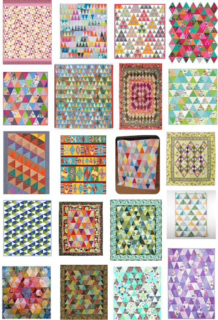 Janome Free Quilting Patterns : Quilt Inspiration: Free pattern day: Thousand Pyramids quilts!