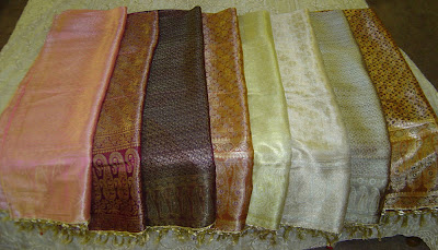 Brocade Silk Scarves - Complete Fashion Accessory