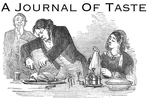 A Journal Of Taste