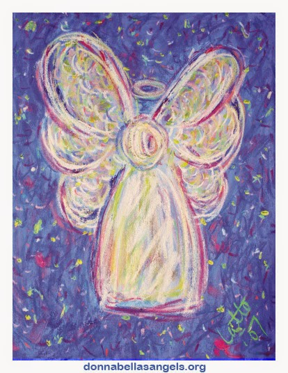 Starry Night Angel Art Painting