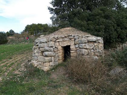 La cabana de vinya de la Costa dels Frares