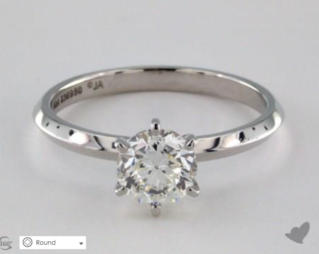 A Custom Engagement Ring Under $2000