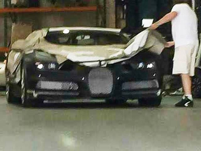Bugatti Chiron spotted am Flughafen von Los Angeles