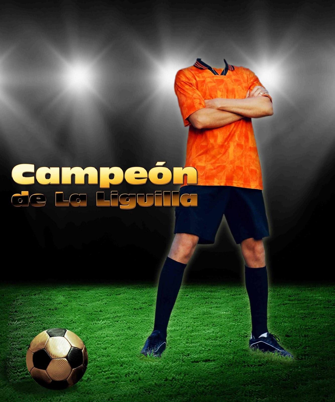Recursos graficos para diseño.: Plantilla psd Futbolista en estadio