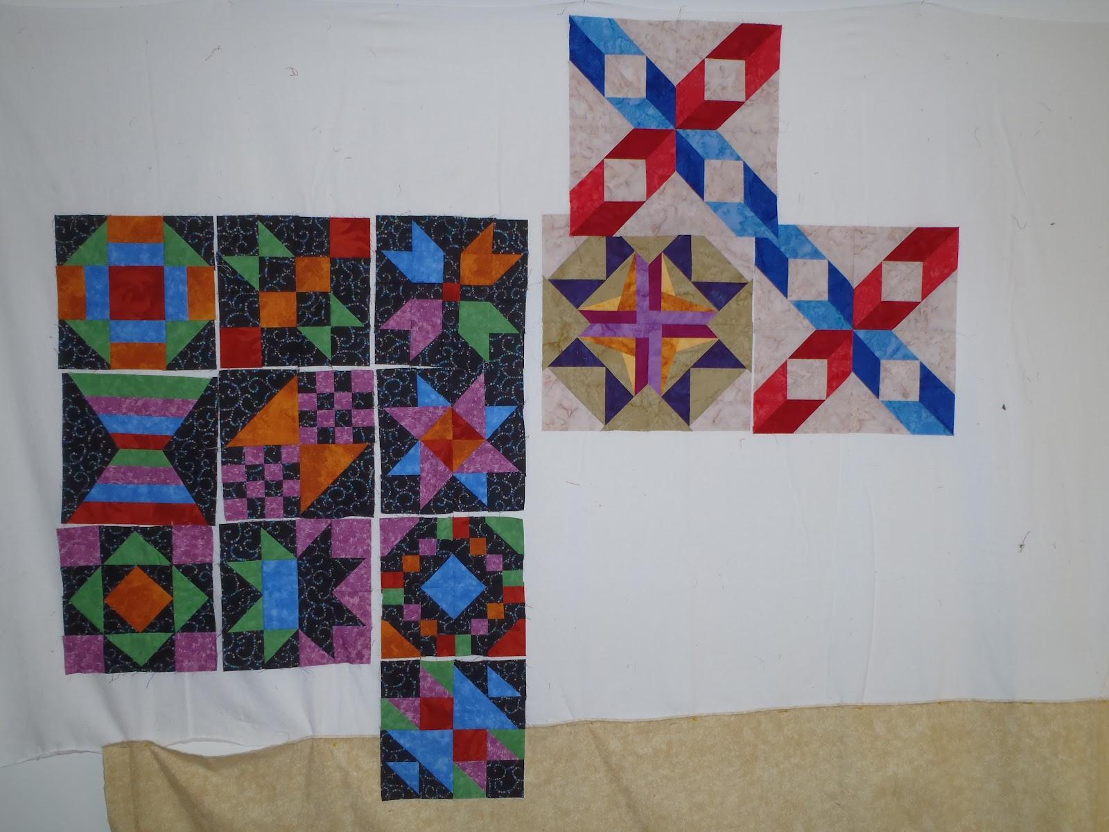 Krista Quilts Design Wall