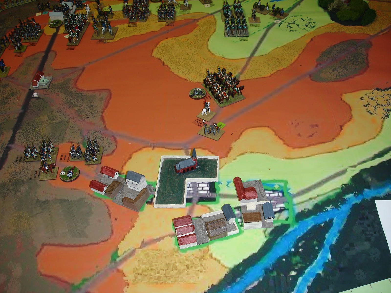 One sided miniature wargaming discourse waterloo take two for Domon waterloo