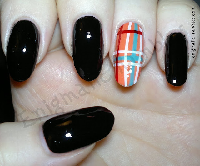 Tartan-Plaid-Nails-Nail-Art-Striping Tape
