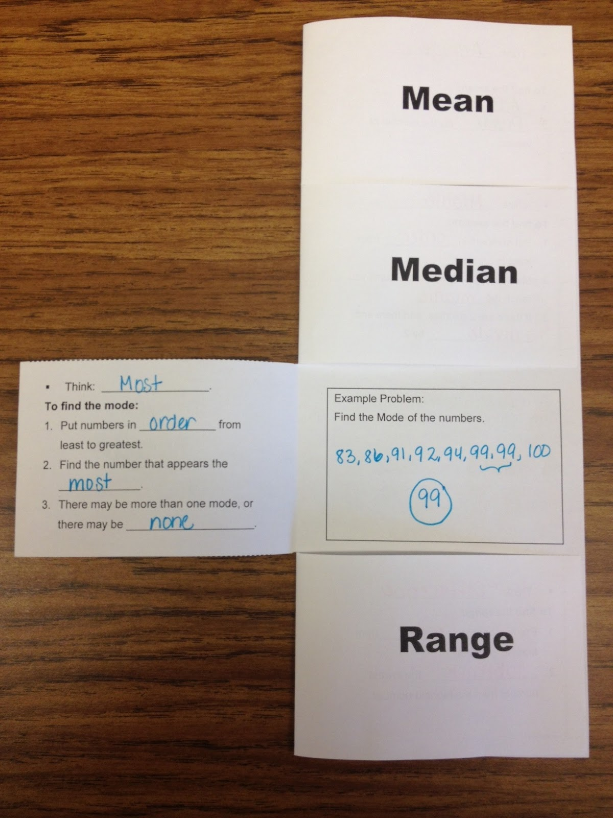 Middle School Math Rules!: Two Foldables-Ratio, Rate, and Proportion ...