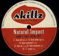 Natural Impact – Don\'t You Even Try (VLS) (1998)