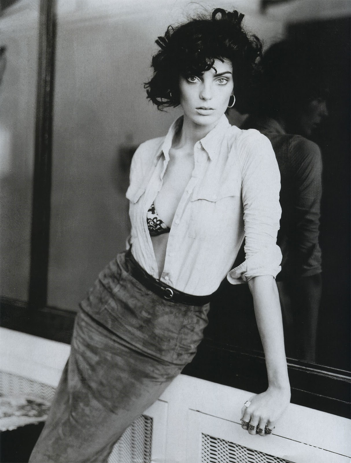 via fashioned by love | Daria Werbowy in Vogue Paris March 2004 (photography: Paolo Roversi, styling: Carine Roitfeld)