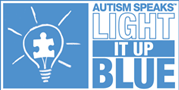 Celebrating World Autism Awareness Day on April 2 and Light It Up Blue