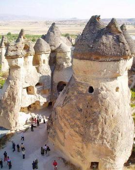 Tempat wisata terkenal di Turki Cappaocia Kappaokya