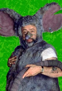 Mark Ritts as Lester The Rat or The Guy in a Rat suit in Beakman's World