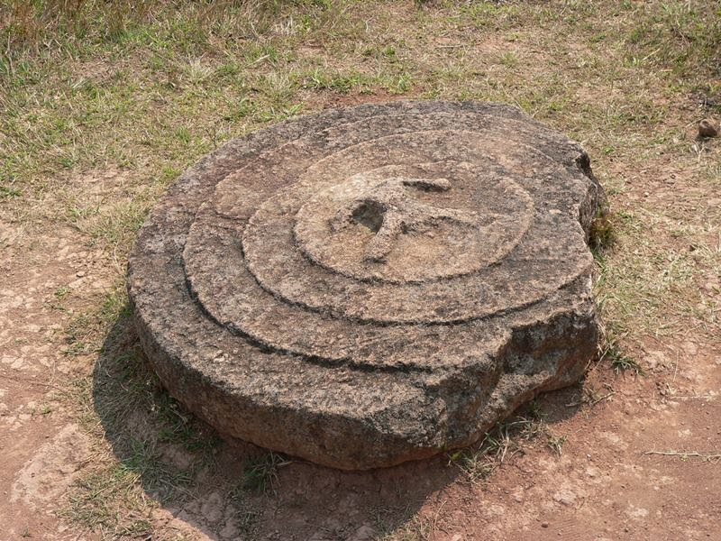 The Plain of Jars is a megalithic archaeological landscape in Laos. Scattered in the landscape of the , Xieng Khouang, Laos, are thousands of megalithic jars.