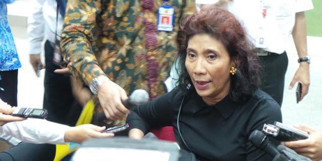 Menteri Kelautan dan Perikanan Susi Pudjiastuti Dipuji, KKP Kementerian Pertama yang Peduli Soal HAM