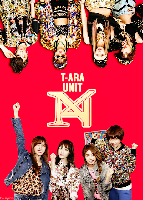 T-ARA Unit N4 Mini Album Cover Photo