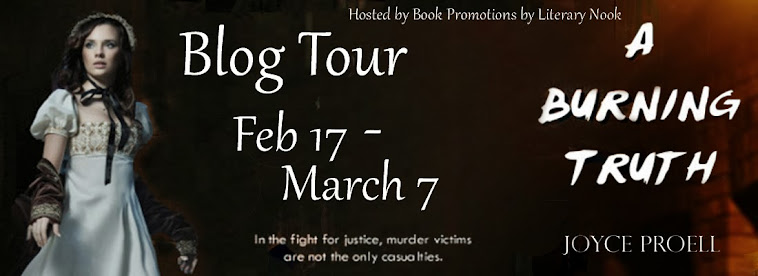 A Burning Truth Blog Tour Stop