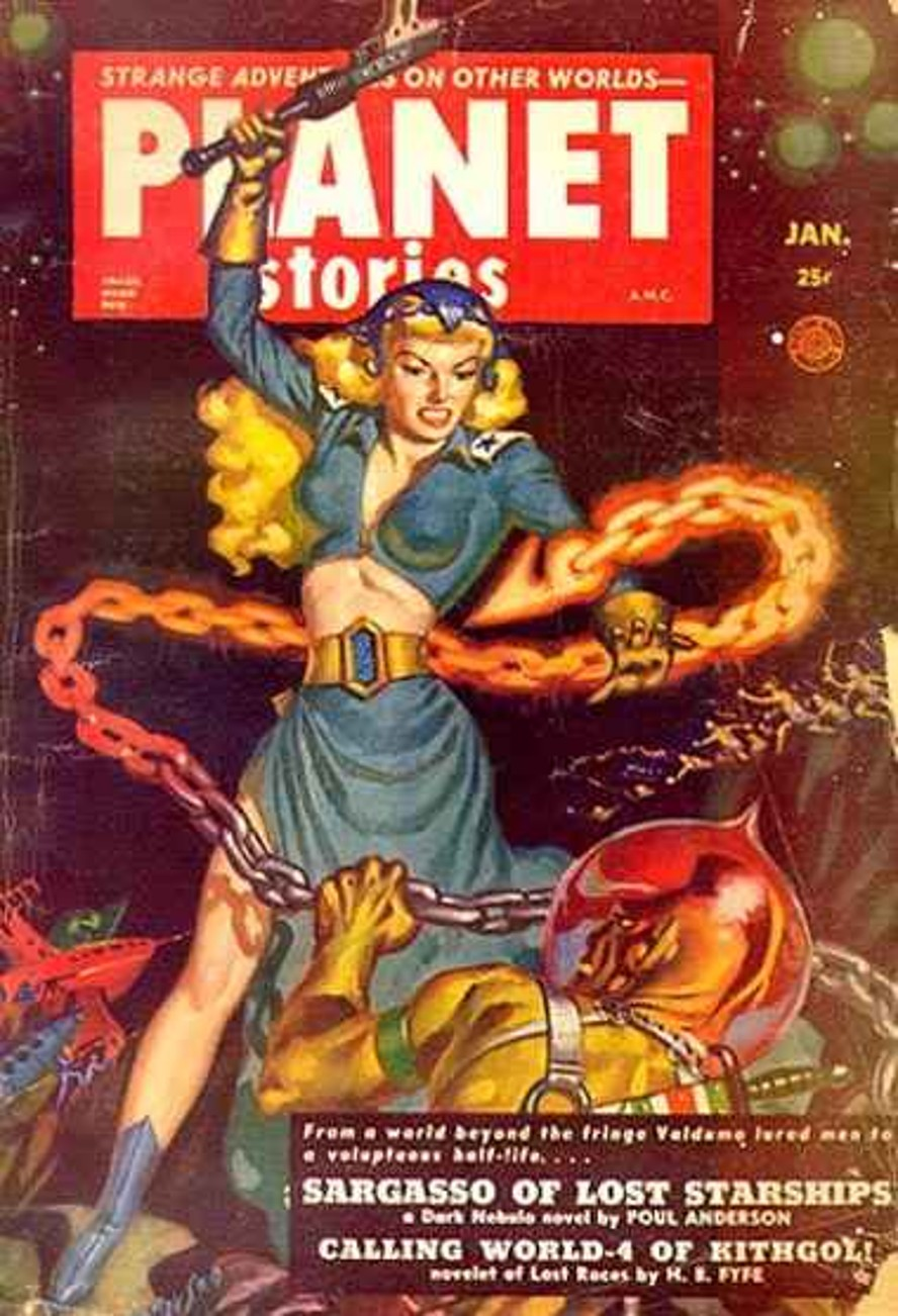 Rough Edges Sunday Morning Bonus Pulp Planet Stories January