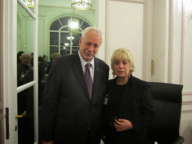 *Pierre Marc JOHNSON, Ancien PM du Québec & Morgane BRAVO*