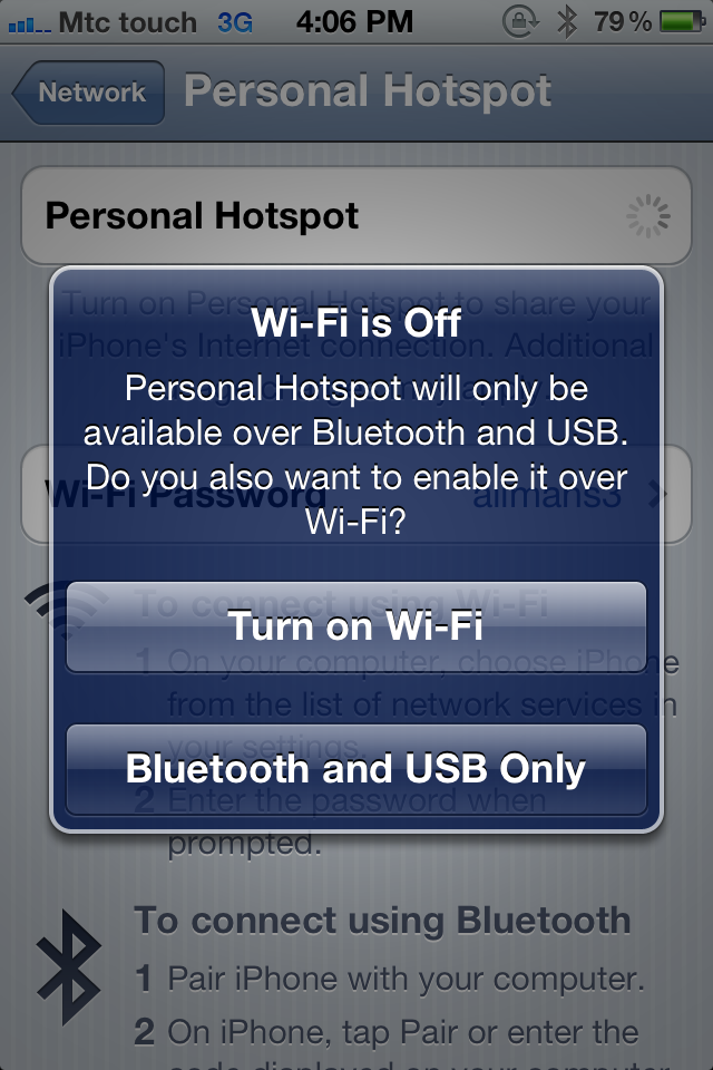 how to connect personal hotspot