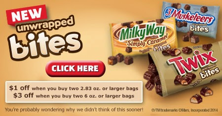 TWIX® Bites Coupon on Diane's Vintage Zest! #EatMoreBites #shop #cbias