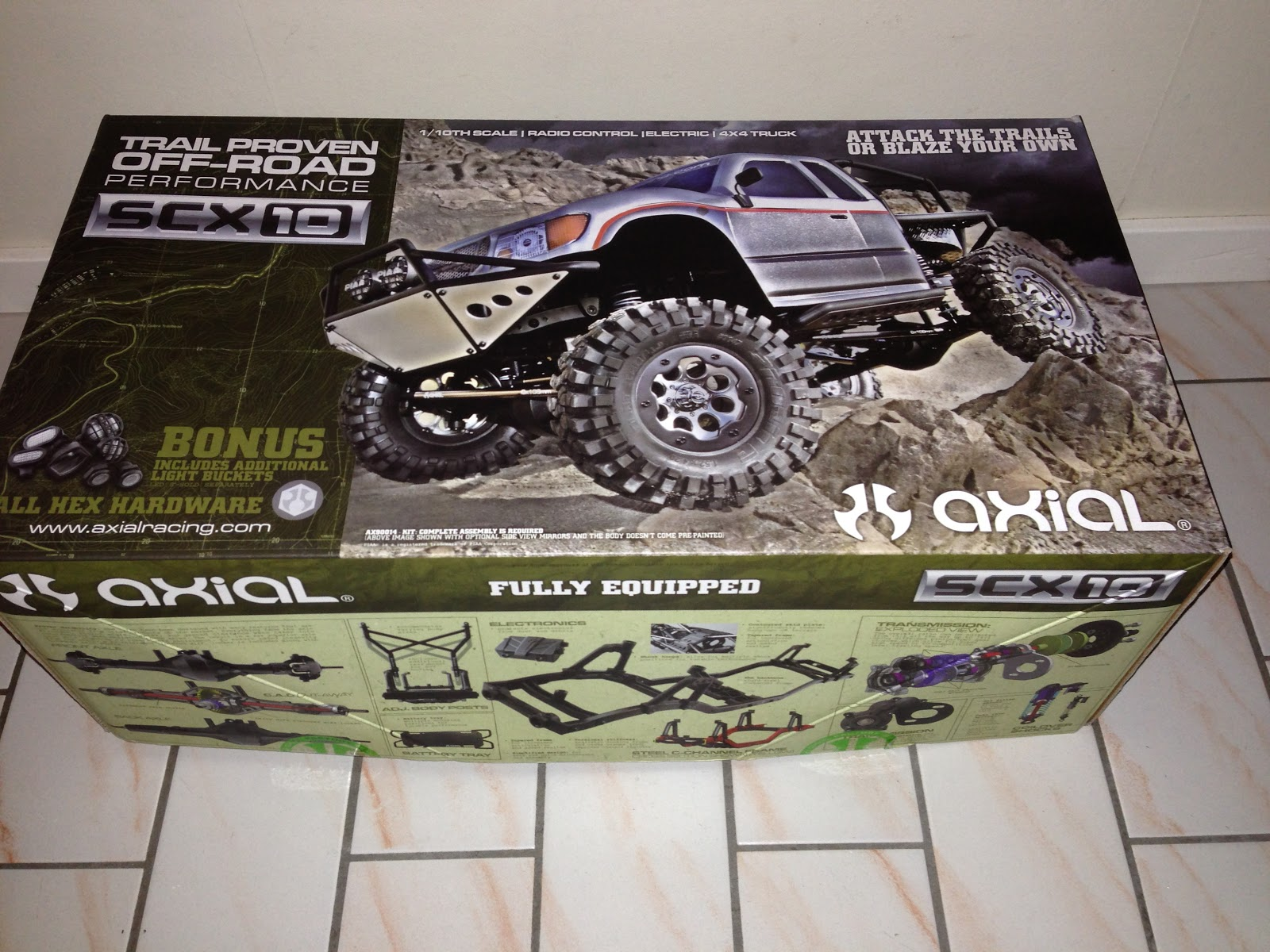 Axial SCX10 Honcho Kit