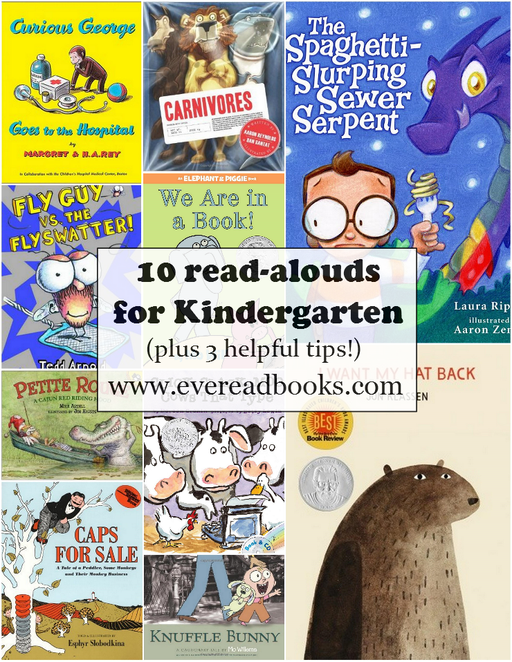 Books to read to a kindergarten class