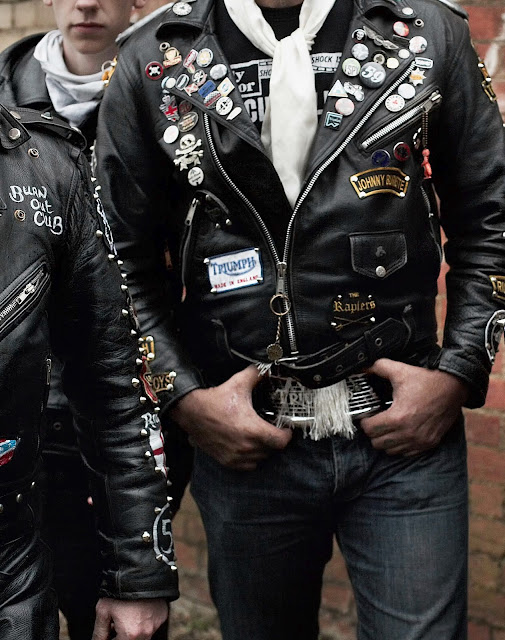 Rockers Leather Motorcycle Jackets Return Of The Cafe Racers