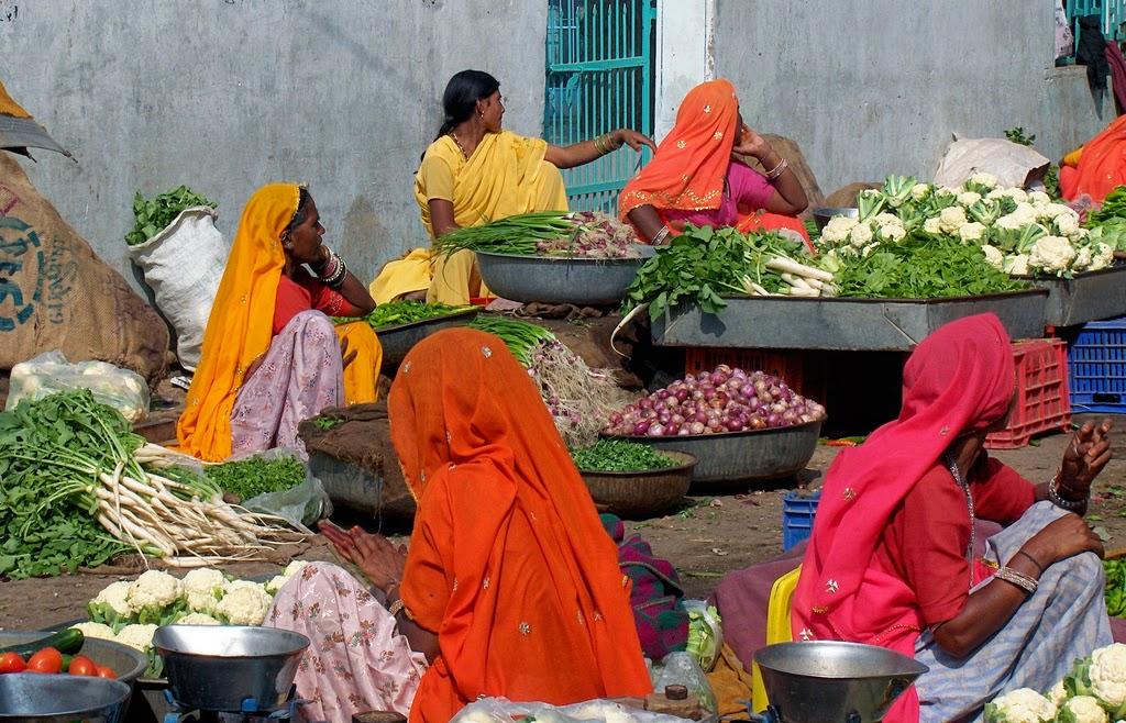Intialainen tori, kasviksia