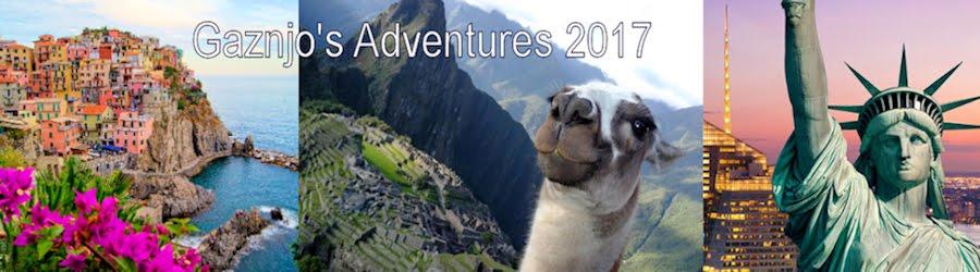 Gaznjo's Adventures 2017