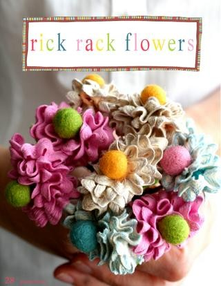 Rie rac flowers tutorial