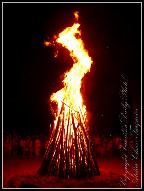 Feu de la Saint Jean Versailles midsummer fire
