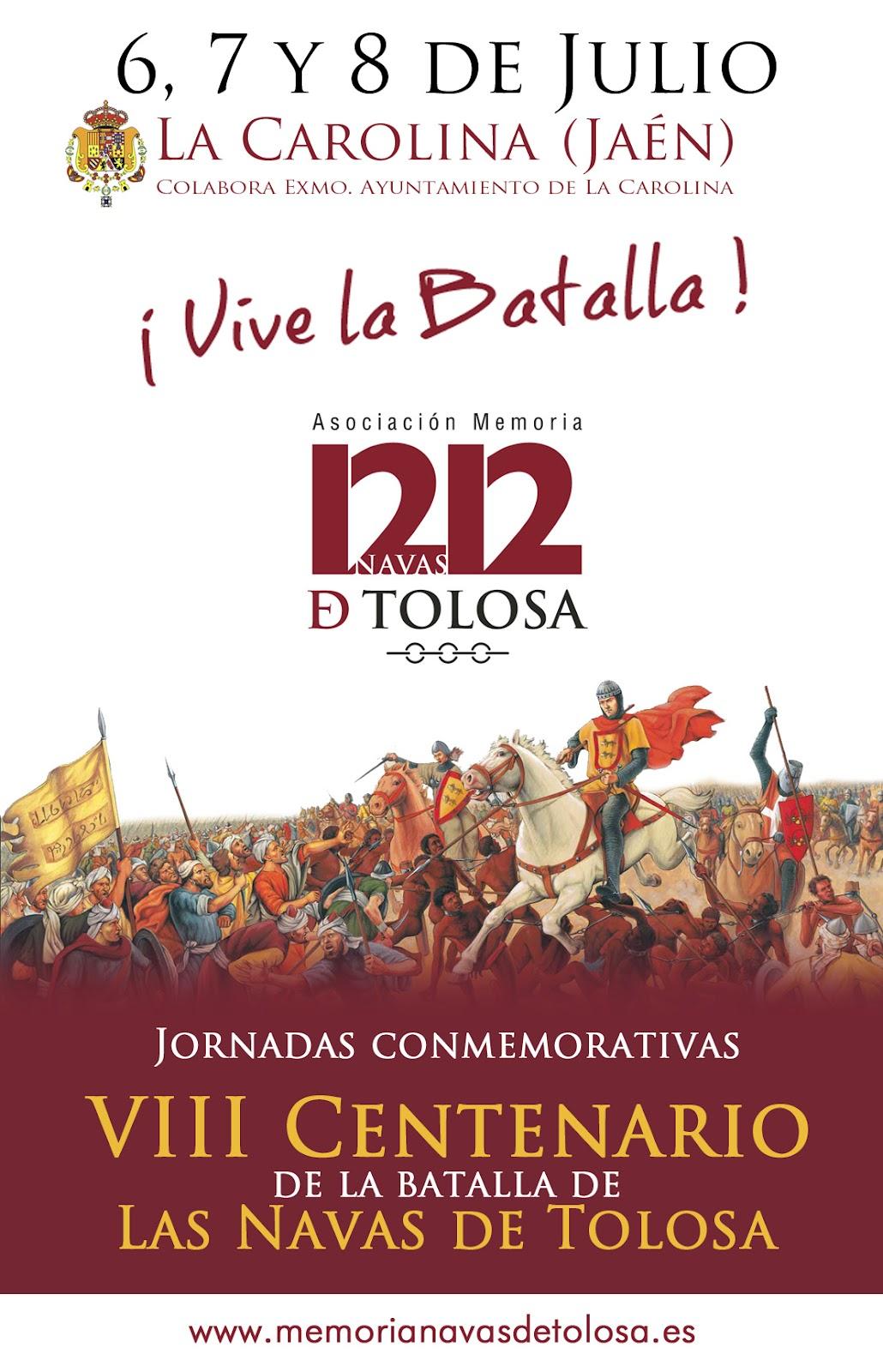 La batalla de las Navas de Tolosa, el Rey y el Gobierno. Jornadas+La+Carolina+Memoria+Navas+de+Tolosa+%282%29