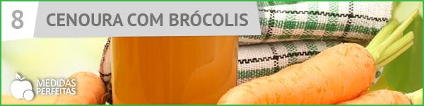 Suco de Cenoura com Brócolis - Receitas de Sucos Detox