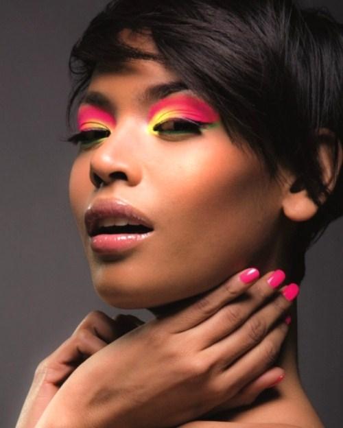 How To Apply Bridal Makeup For Black Skin : Bridal Makeup Tips For Dark Skin Summer Collection 2013 ...