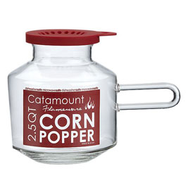 Giveaway Catamount Glass Microwave Popcorn Popper No