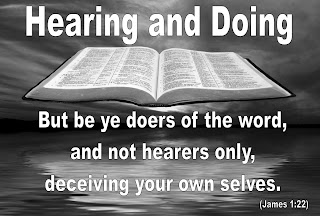 Hearing and Doing -  Be Doers
