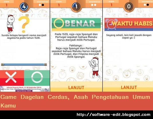 Game Dagelan Cerdas, Asah Pengetahuan Umum Kamu [Android]